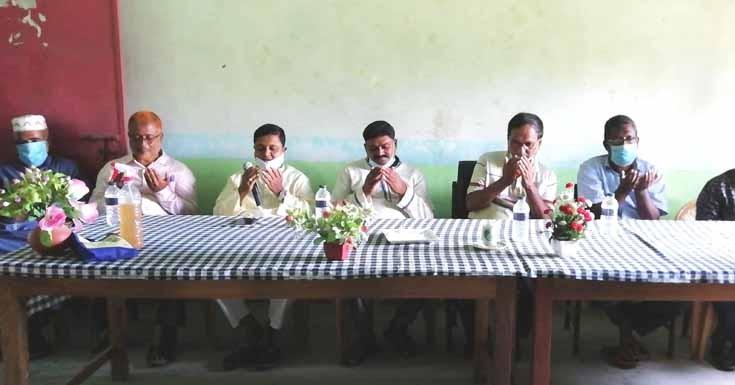 আলহাজ্জ আব্দুল মজিদ এর ১ম মৃত্যুবার্ষিকী উপলক্ষে স্মরণ সভা ও দোয়া অনুষ্ঠিত