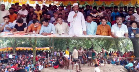 রাজগঞ্জের হায়াতপুর-শাহাপুর গ্রামে গ্রাম-বাংলার মানুষের জনপ্রিয় হা-ডু-ডু খেলা অনুষ্ঠিত