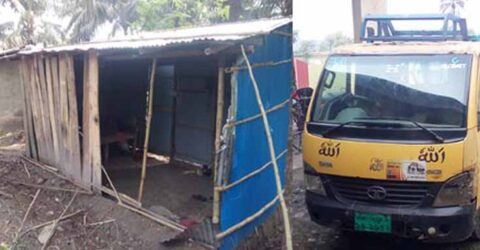 দরগাহপুরে আদালতের নির্দেশ অমান্য করে ঘরবাড়ি ভেঙ্গে লুটপাটের চেষ্টা