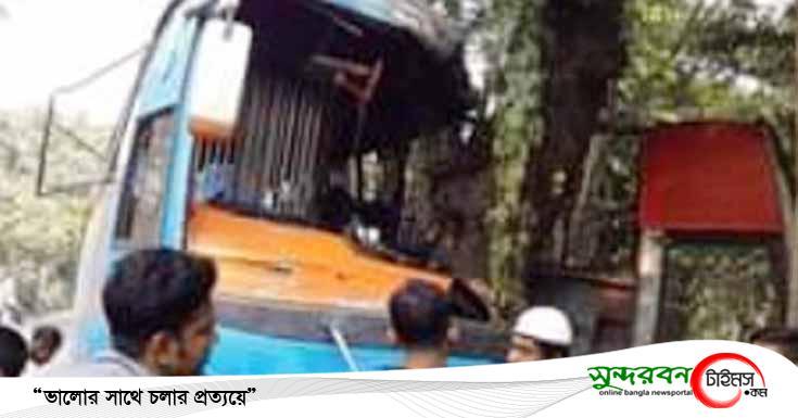চুকনগরে ঠিকানা পরিবহন নিয়ন্ত্রণ হারিয়ে আহত ১২জন