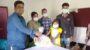 পাটকেলঘাটায় বাংলাদেশ ন্যাজ্যারীণ মিশনেরউদ্যোগে ত্রান সামগ্রী বিতরন