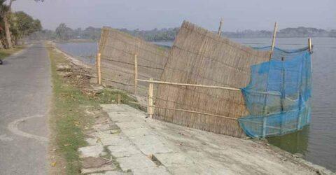 কালভার্ট বন্ধ করে মাছের ঘের: কেশবপুরে ২ হাজার বিঘায় বোরো আবাদ অনিশ্চিত