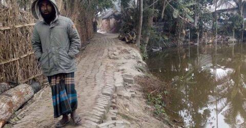 চুকনগরে পশ্চিমপাড়ার রাস্তাটি সংস্কারের দাবি