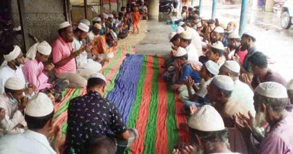 চুকনগরে গাজী ইয়াসিন মৎস্য আড়টের উদ্যোগে দোয়া ও ইফতার মাহফিল
