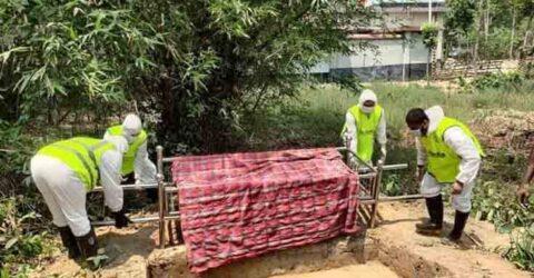 রাজগঞ্জে করোনায় গৃহকর্মীর মৃত্যু, দাফনে তাকওয়া টিম