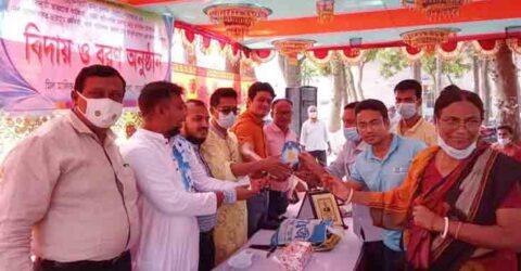 পাটকেলঘাটা খাদ্যগুদাম কর্মকর্তার বিদায়, নবাগতকে বরণ