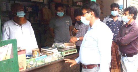 চুকনগরে ভ্রাম্যমান আদালতে ১৪হাজার টাকা জরিমানা