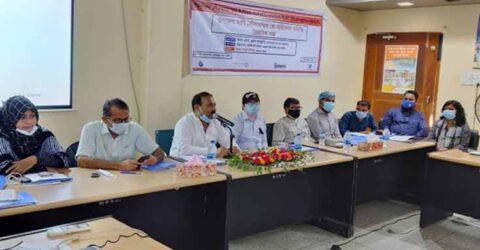 তালায় মাল্টিস্টেকহোল্ডার কোঅর্ডিনেশন কমিটির সভা অনুষ্ঠিত