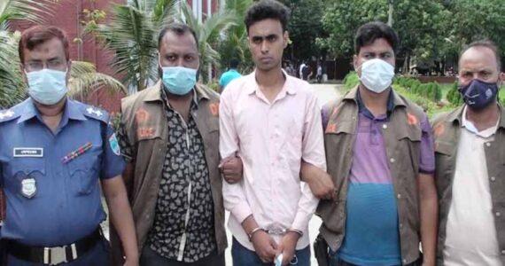 দেবহাটায় স্কুল ছাত্রীকে ধর্ষনের পর শ্বাসরোধ করে হত্যার ঘটনায় প্রেমিক গ্রেফতার