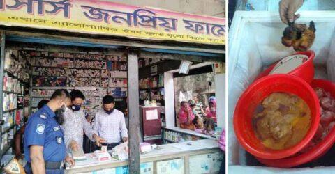কালিগঞ্জের নলতায় ভোক্তা অধিদপ্তরের অভিযানে ৩টি প্রতিষ্ঠানকে ২২হাজার টাকা জরিমানা
